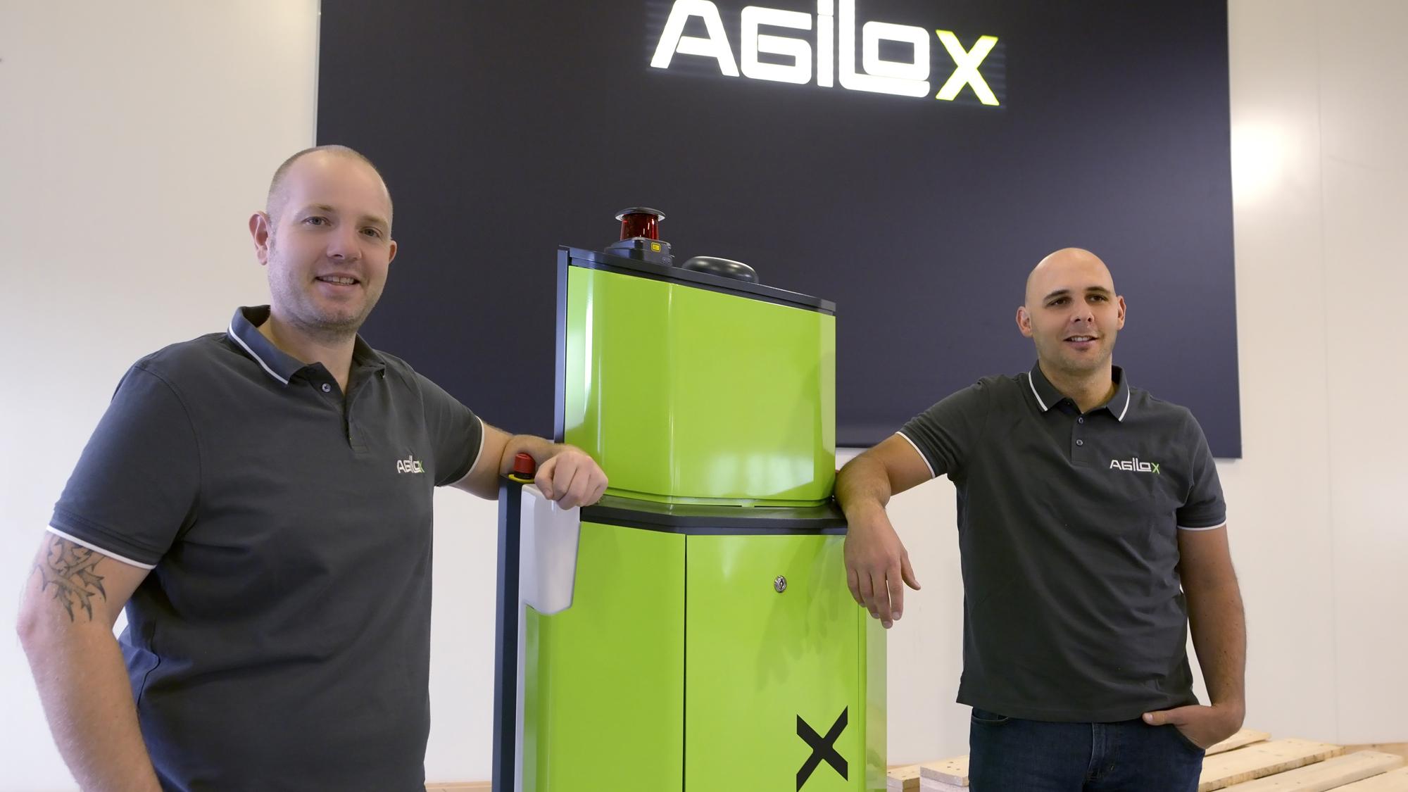 Die beiden Agilox-CEOs © AGILOX Systems GmbH, David Katouly