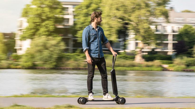 Der e-tron Scooter von Audi. © Audi