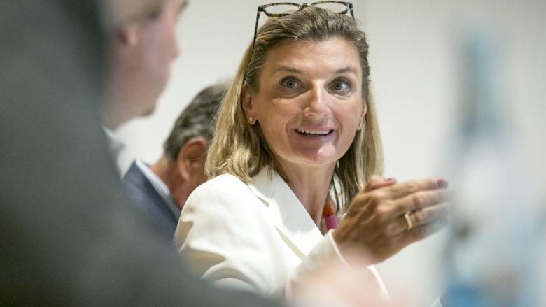 Dorothee Ritz (General Managerin, Microsoft Österreich). © Microsoft Österreich GmbH/APA-Fotoservice/Hetfleisch