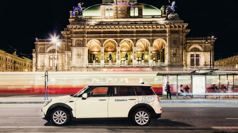 DriveNow-Wagen in Wien. © DriveNow