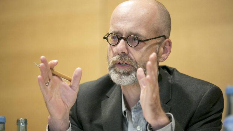 Bernd Carsten Stahl (Professor an der De Montfort University, UK, Leiter des Centre für Computing & Social Responsibility). © Microsoft Österreich GmbH/APA-Fotoservice/Hetfleisch