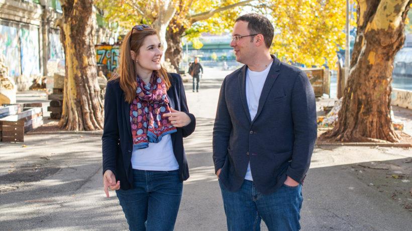 Elke Pichler und Emanuel Riccabona von Impactory. © Victoria Zwiauer