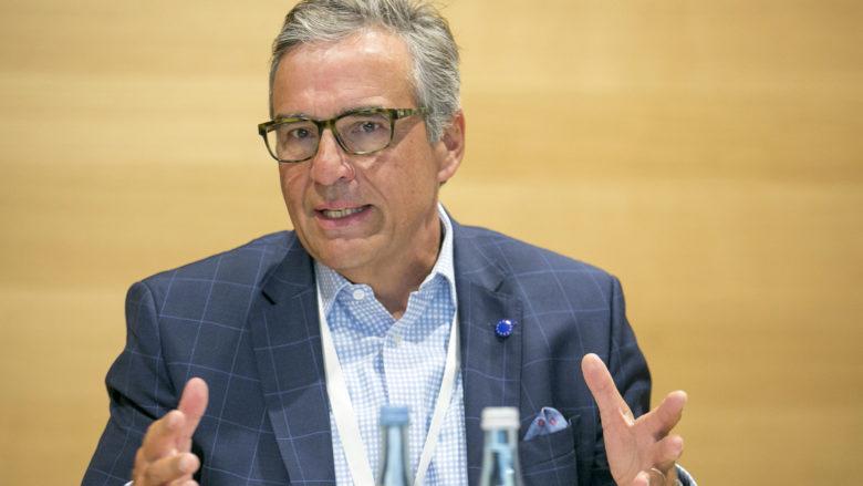 Andreas J. Ludwig (Vorstandsvorsitzender, Umdasch Group AG). © Microsoft Österreich GmbH/APA-Fotoservice/Hetfleisch
