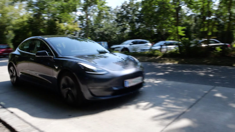 Teslas Model 3. © Trending Topics