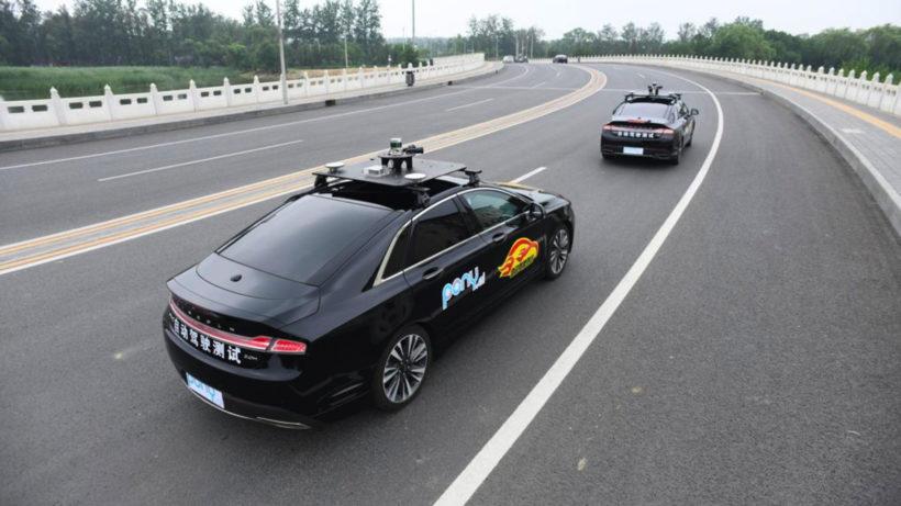 Tests mit selbstfahrenden Autos in Peking. © Pony.ai