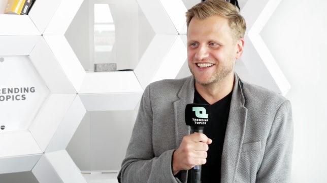 Milan Zahradnik, CEO und Gründer von Propster. © Trending Topics