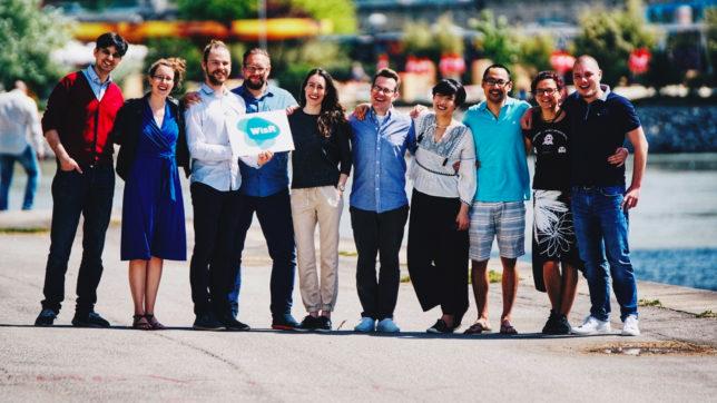 Das Team von WisR. © WisR GmbH, Timar Batis