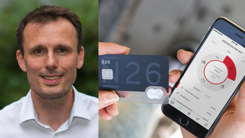 Thomas Grosse ist Chief Banking Officer bei N26. © N26