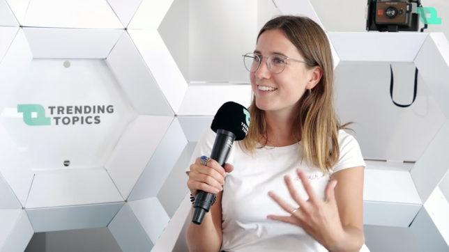 Désirée Jonek, Gründerin von WoMentor. © Trending Topics