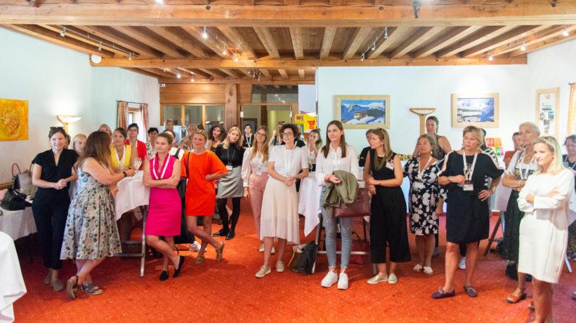 "Das Treffen der ""Femtrepreneurinnen"" in Alpbach © EFA / Iryna Yeroshko"