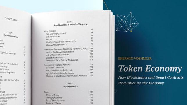 Shermin Voshmgir: Token Economy © Voshmgir