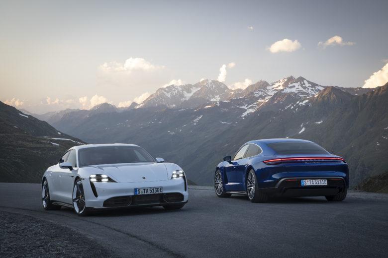 Der neue Porsche Taycan. © Christoph Bauer / Porsche