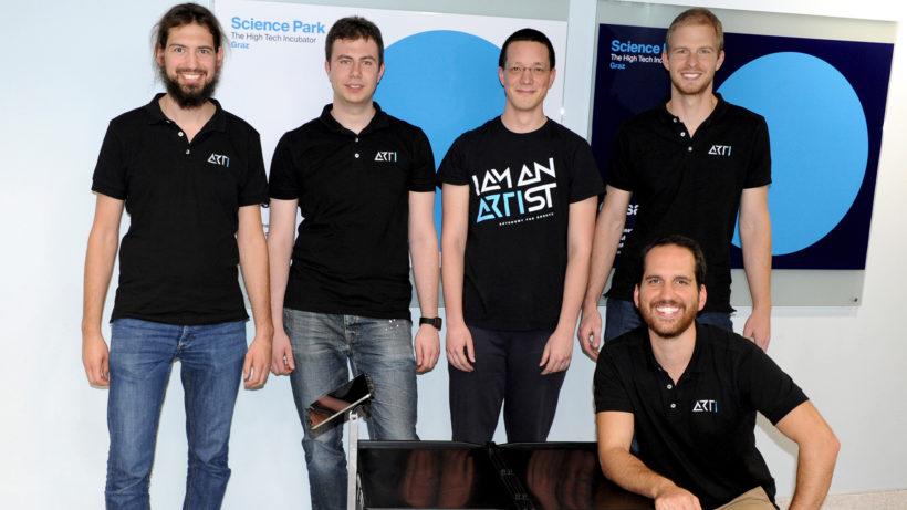 Das ARTI-Team. © Autonomous Robot Technology GmbH