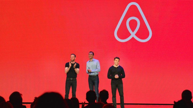 Brian Chesky, Joe Gebbia und Nate Blecharczyk haben Airbnb 2008 gegründet. © Airbnb