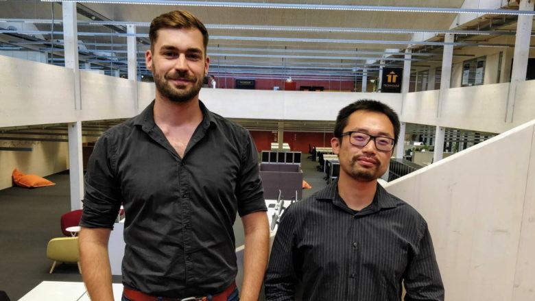 Alexander Petkov und Boyang Xia von Celantur. © Celantur