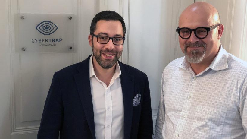 Avi Kravitz (CTO) und Jack Wagner (CEO) von Cybertrap. © Trending Topics