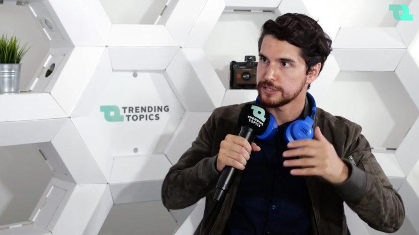 Kambis Kohansal Vajargah ist neuer Head of Startup-Services der WKÖ. © Trending Topics