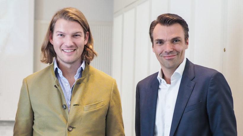 N26-CEO Valentin Stalf und Kapsch-BusinessCom-COO Jochen Borenich © Trending Topics