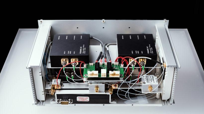 Empfangsgerät für Daten, die mit Quantentechnologie verschlüsselt wurden. © QKD/Michael Mürling