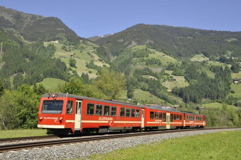 Der alte Dieselzug der Zillertalbahn. © ZVB AG