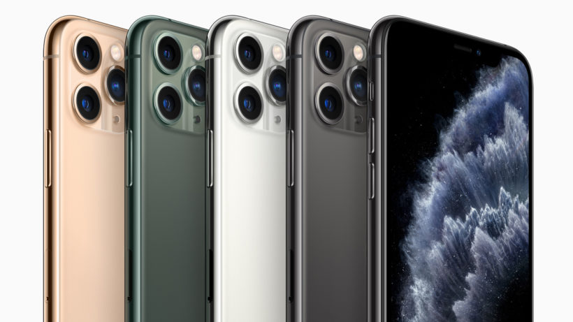 Das iPhone 11 Pro mit Triple-Kamera. © Apple