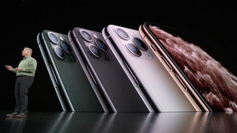 Das iPhone 11 Pro kommt in vier Farben. © Apple