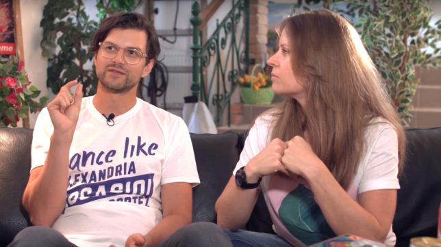 Armin Strbac und Katharina Klausberger haben zusammen Shpock gegründet © Trending Topics