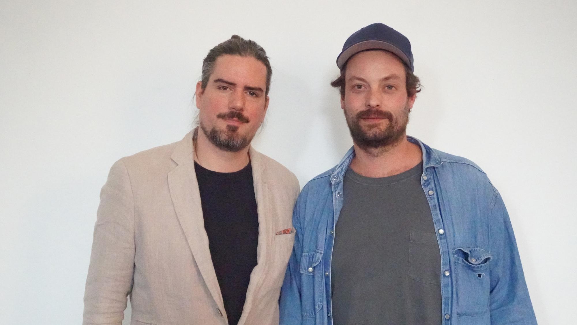 YAIR Co-Founder Leonardo Lüpertz and YAIR Co-Founder Florian Braeunig © Feng Hao