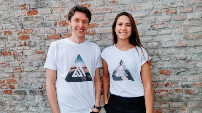 Markus Raunig (CEO) und Hannah Wundsam (CXO) von Austrian Startups. © Austrian Startups