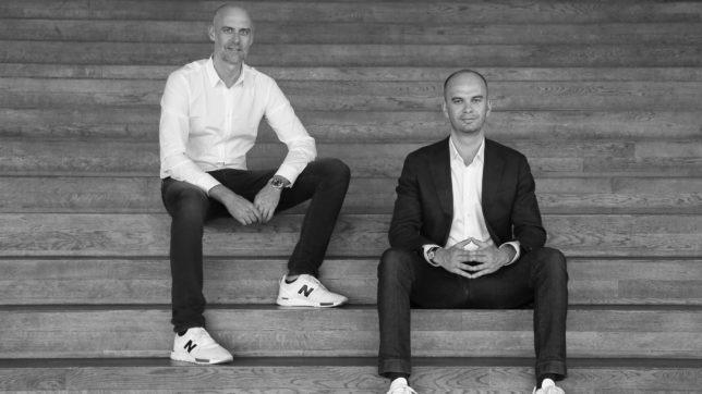 Günter Höllerl und Gys Hough von Coinstone Capital. © Riddle & Code