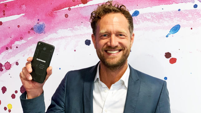 Fairphone-Gründer Bas van Abel. © Oliver Janko