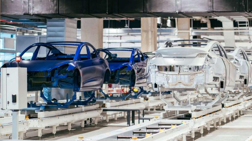Die Tesla-Gigafactory in Shanghai. © Tesla