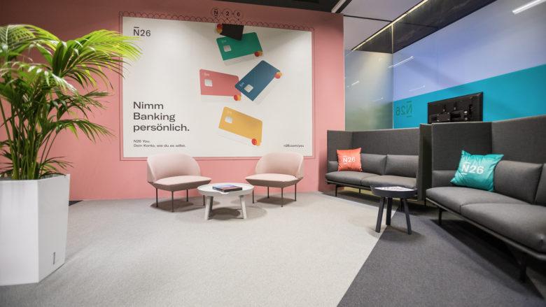 N26-Office im Wiener weXelerate. © Tamás Künsztler