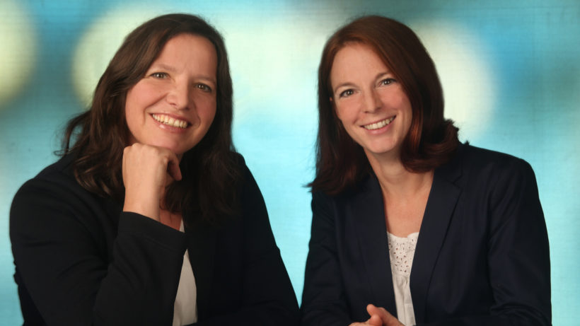 Andrea Heinzle und Eva Sigl von Qualizyme Diagnostics. © Qualizyme Diagnostics