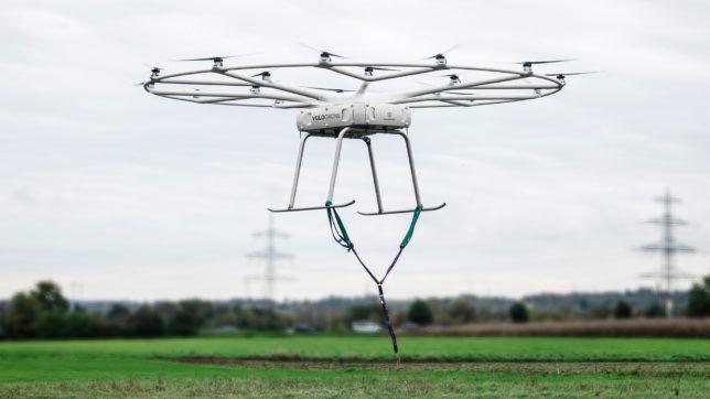 Die VoloDrone von Volocopter. © Volocopter