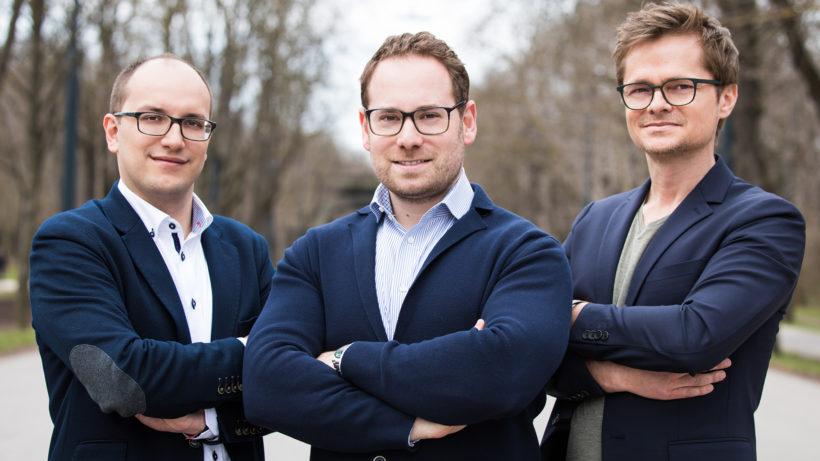 Benjamin Ruschin, Thomas Pamminger und Sead Ahmetovic von WeAreDevelopers. © WeAreDevelopers/Tamas Künsztler