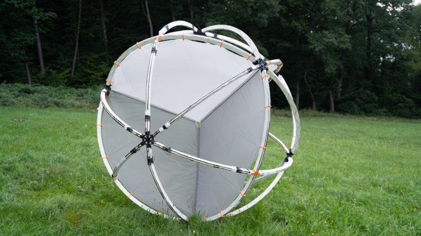 Der zweite Prototyp von Tumbleweed © Team Tumbleweed