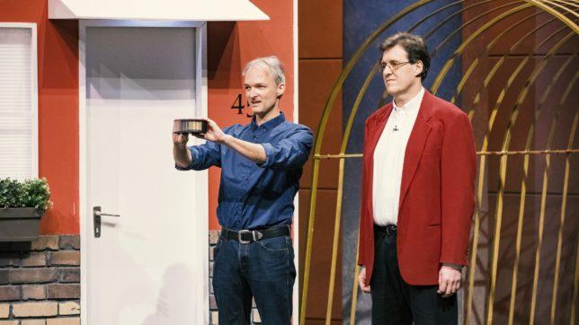 Gerd Wolfinger und Roland Huber von HomeShadows aus Wien. © TVNOW / Bernd-Michael Maurer