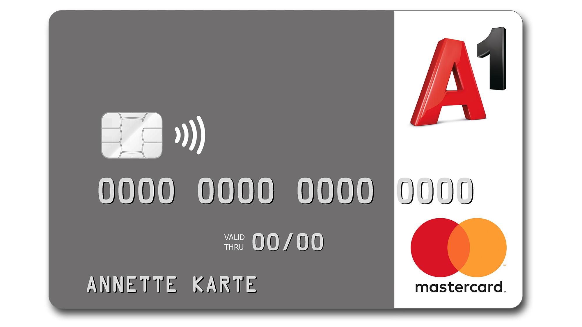 kreditkarten a1 kooperiert jetzt mit mastercard anstatt. Black Bedroom Furniture Sets. Home Design Ideas