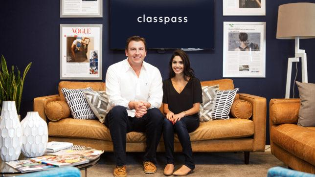 ClassPass-Gründerin Payal Kadakia und CEO Fritz Lanman. © ClassPass