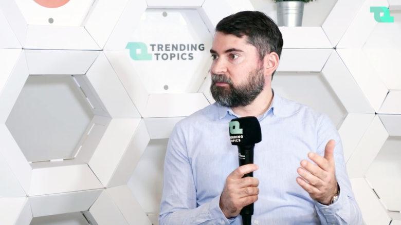 Daniel Strieder, CEO von cashpresso. © Trending Topics