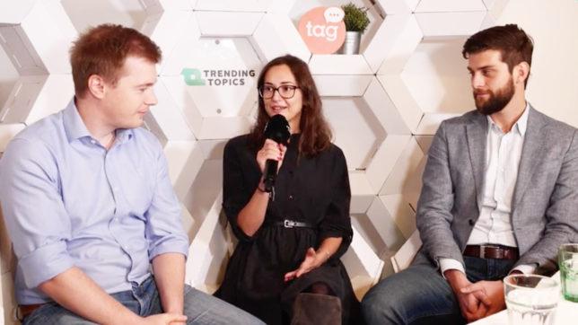 Patrick Pöschl (Fintech Austria), Alina Metlitski (Fintech Austria) und Stefan Punkl (Bankenverband). © Trending Topics