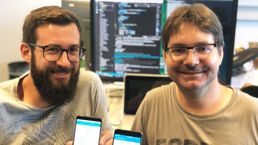 Patrick Gaubatz und Simon Tragatschnig, die Gründer von Fiskaly. © Fiskaly