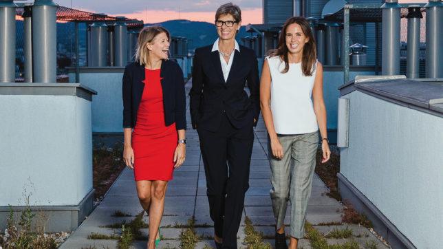 Franziska Hecht, Gabriele Hecht und Hannah Sturm gründeten pikestorm. © pikestorm