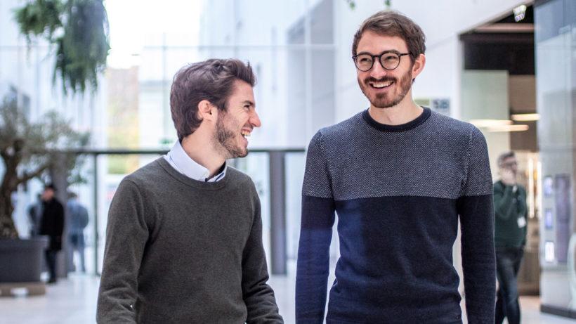 David Schellander und Markus Koblmüller von TeamEcho. © TeamEcho