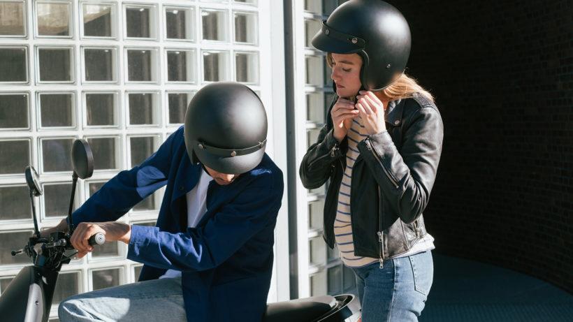 E-Mopeds im SharingTrend. © Conrad Bauer