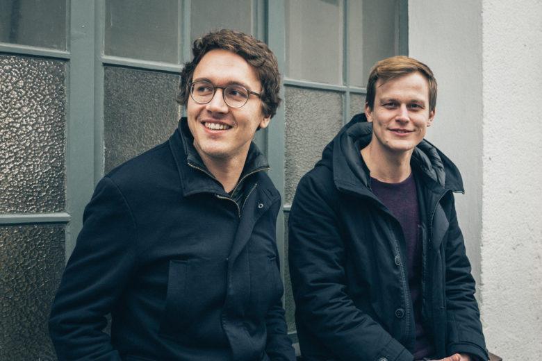 Alexander Meiritz und Valerian Seither, die Gründer von emmy sharing. © emmy