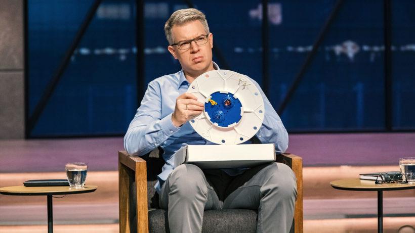 Fragender Blick bei Frank Thelen bei DHDL. © TVNOW / Bernd-Michael Maurer
