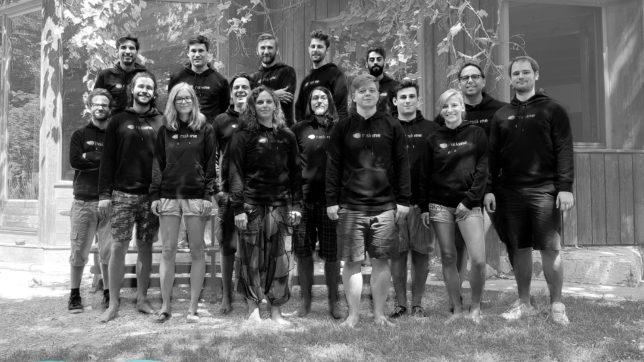 Das riskine-Team. © riskine