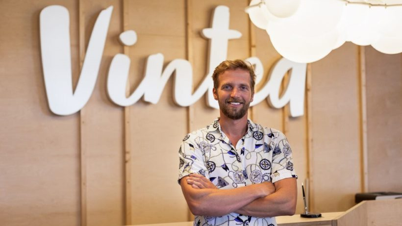 Thomas Plantenga, CEO von Vinted. ©Vinted